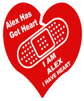 Alex Heart Walk Tee Shirt Designs